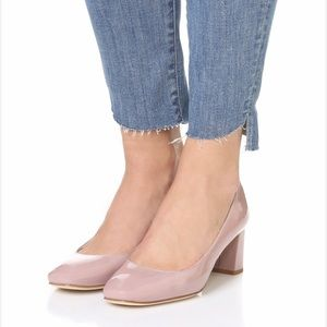 Kate Spade Rose Quartz Dolores Block Heel Pumps 10